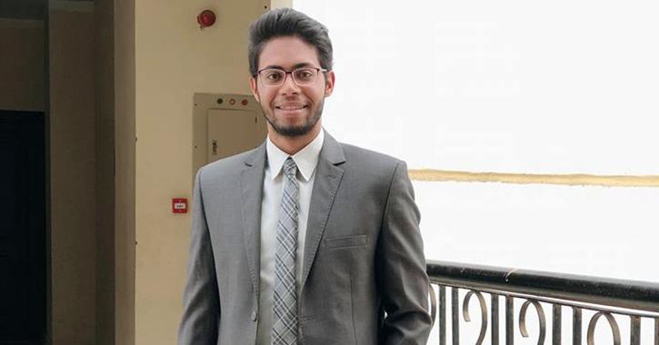 فوز رئيس اتحاد جامعة بني سويف السابق بلقب «الطالب المثالي»