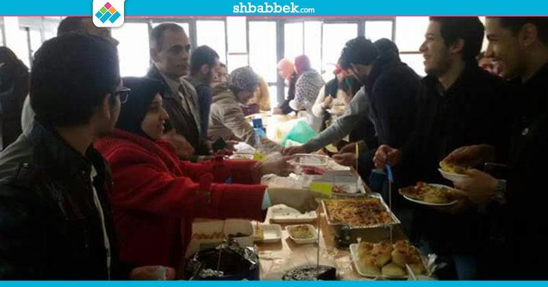 مشاركات الطلاب.. «ديش بارتي» بصيدلة بورسعيد احتفالا بالمولد النبوي ورأس السنة (صور)