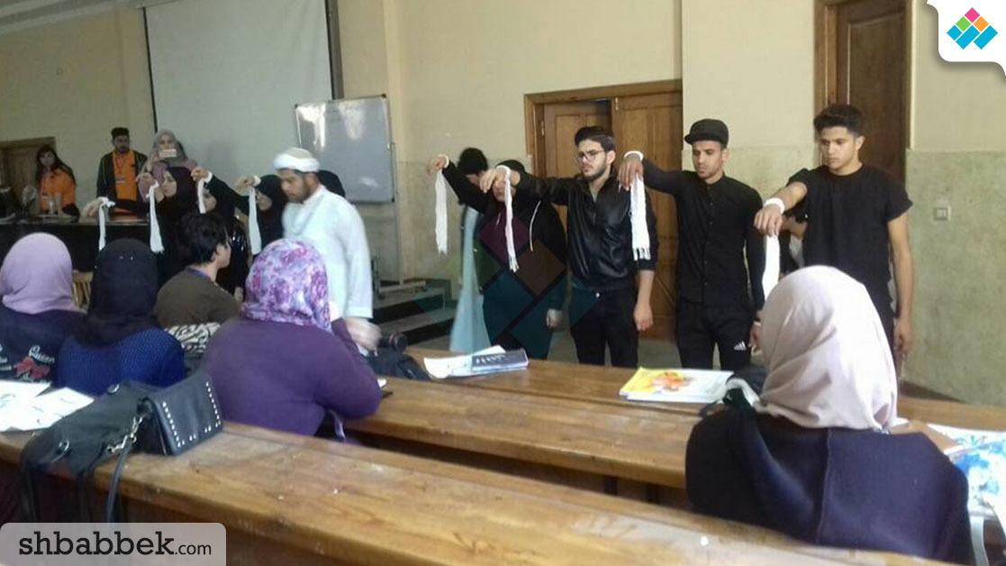اتحاد الطلاب بجامعة المنصورة ينظم مسابقة «تجارة جوت تالنت» (صور)