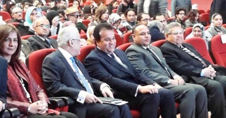 وزير التعليم العالي يفتتح فعاليات المؤتمر القومي الأول لجامعة الطفل