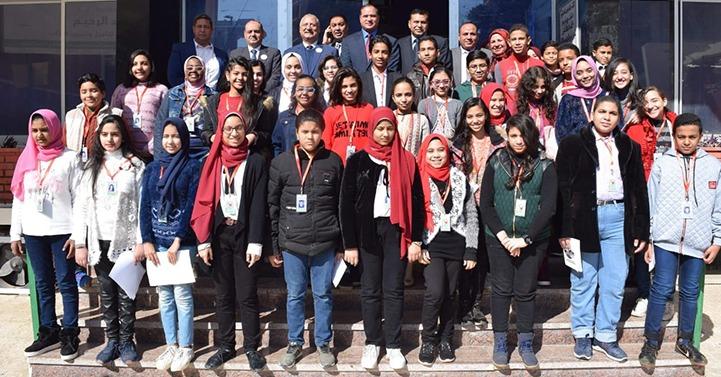 افتتاح جامعة الطفل بسوهاج