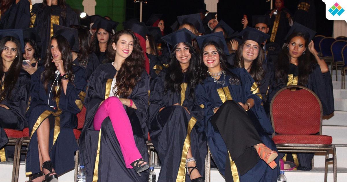 جامعة أكتوبر للعلوم تحتفل بتخريج 2000 طالب (صور)