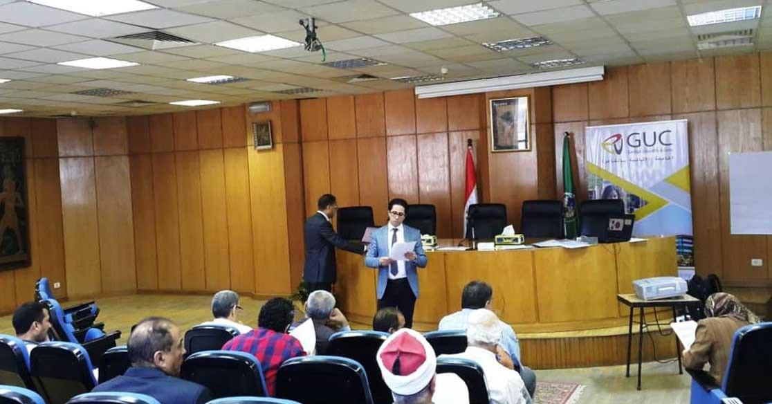 الجامعة الألمانية بالقاهرة تنظم ورش تدريبية لشباب محافظات الصعيد