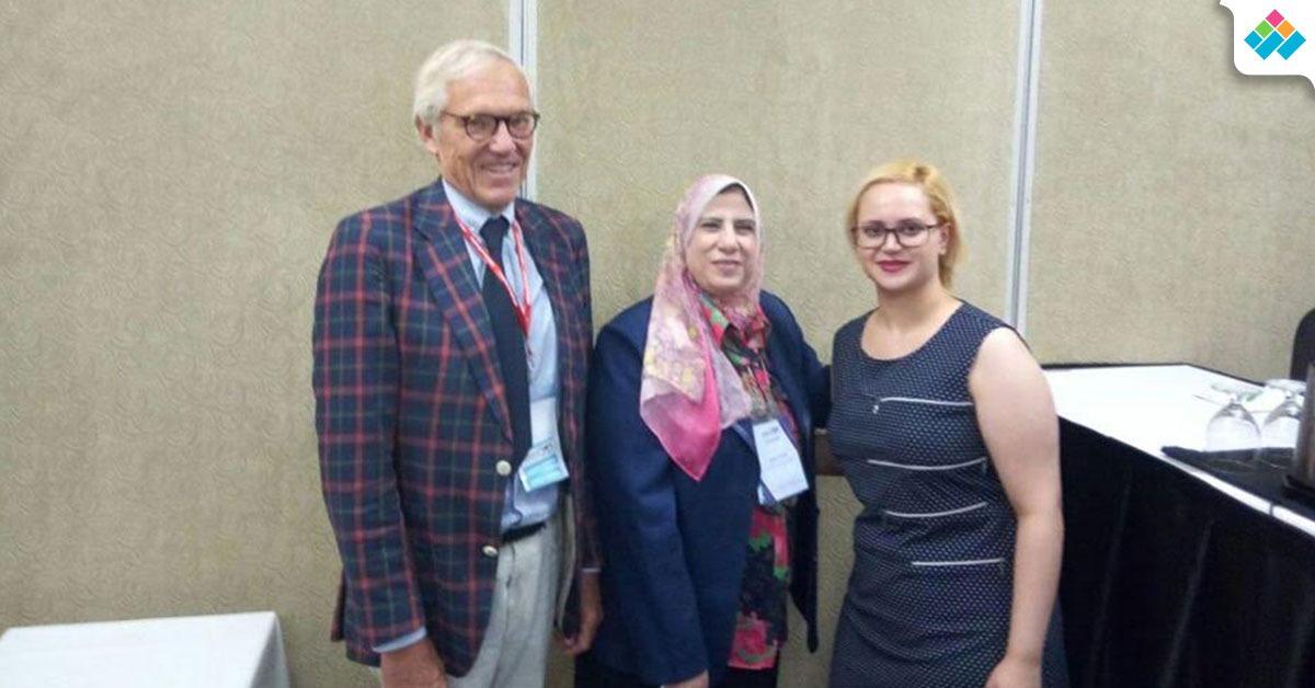 مؤتمر الزهايمر في كندا يكرم صيدلة بنات الأزهر (صور)