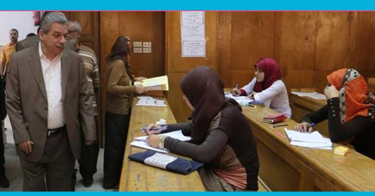 ضبط 14 حالة غش بامتحانات التيرم الثاني في جامعة بني سويف