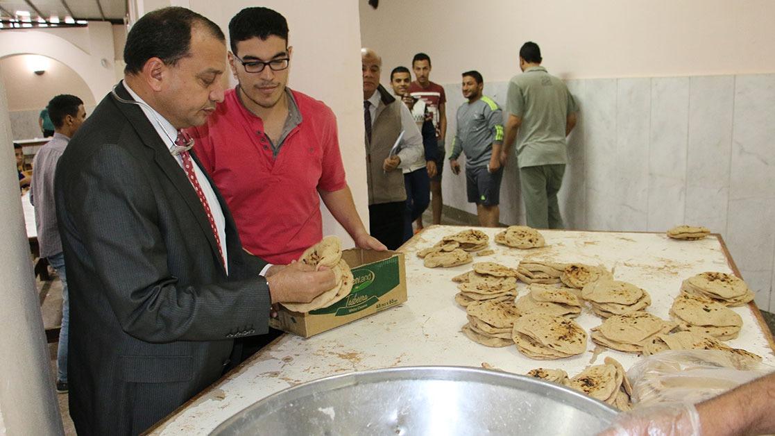 إحالة مسئولين بالمدينة الجامعية في بني سويف للتحقيق