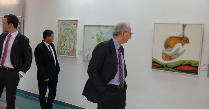 السفير الأرجنتيني يزور جامعة المنيا