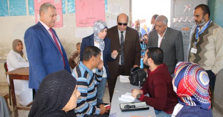 جامعة طنطا تطلق قافلة شاملة لأهالي محافظة الغربية