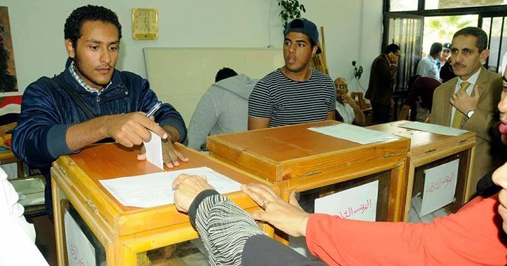 تفاصيل إعادة انتخابات اتحاد الطلاب في عدد من كليات جامعة قناة السويس