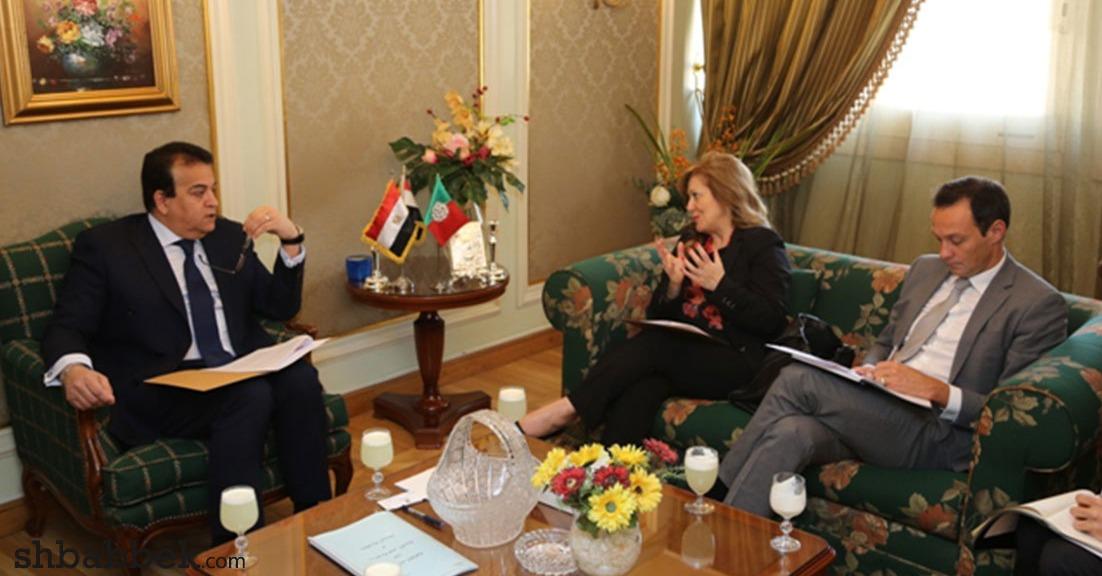 بالصور.. وزير التعليم العالي يستقبل سفيرة البرتغال بالقاهرة لبحث التعاون بين البلدين