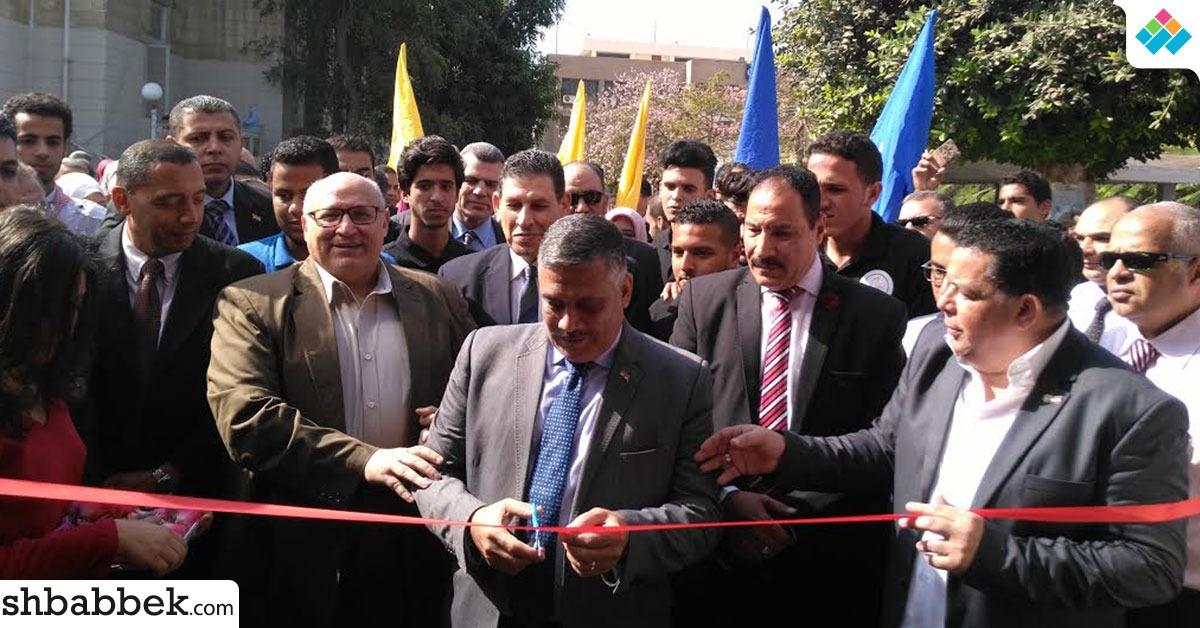 جامعة عين شمس تفتتح معرض «صنع في مصر 3» (صور)