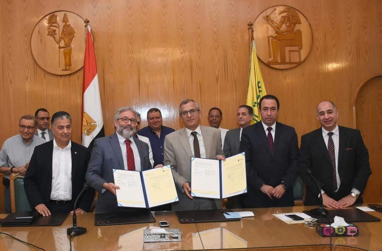 بروتوكول تعاون بين جامعة القاهرة وجورجيا الأمريكية في مجال الزراعة