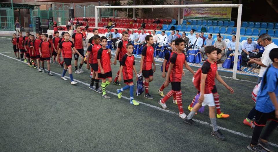 رئيس جامعة سوهاج يفتتح بطولة الأكاديميات لخماسي كرة القدم