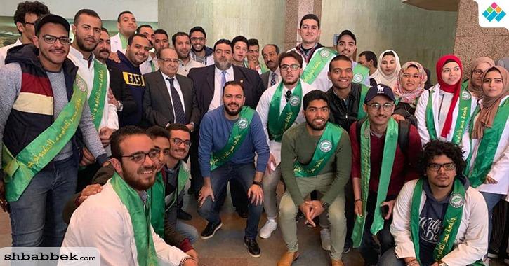 طلاب كلية الطب جامعة «MUST»ينضمون لجبهة الدفاع عن مستشفى سعاد كفافي