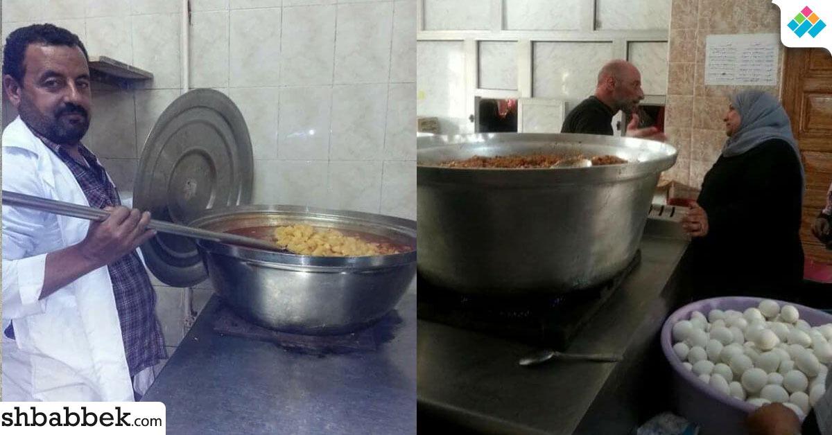 تشكيل لجنة لفحص الأغذية الفاسدة في مدينة طالبات الأزهر بكفر الشيخ