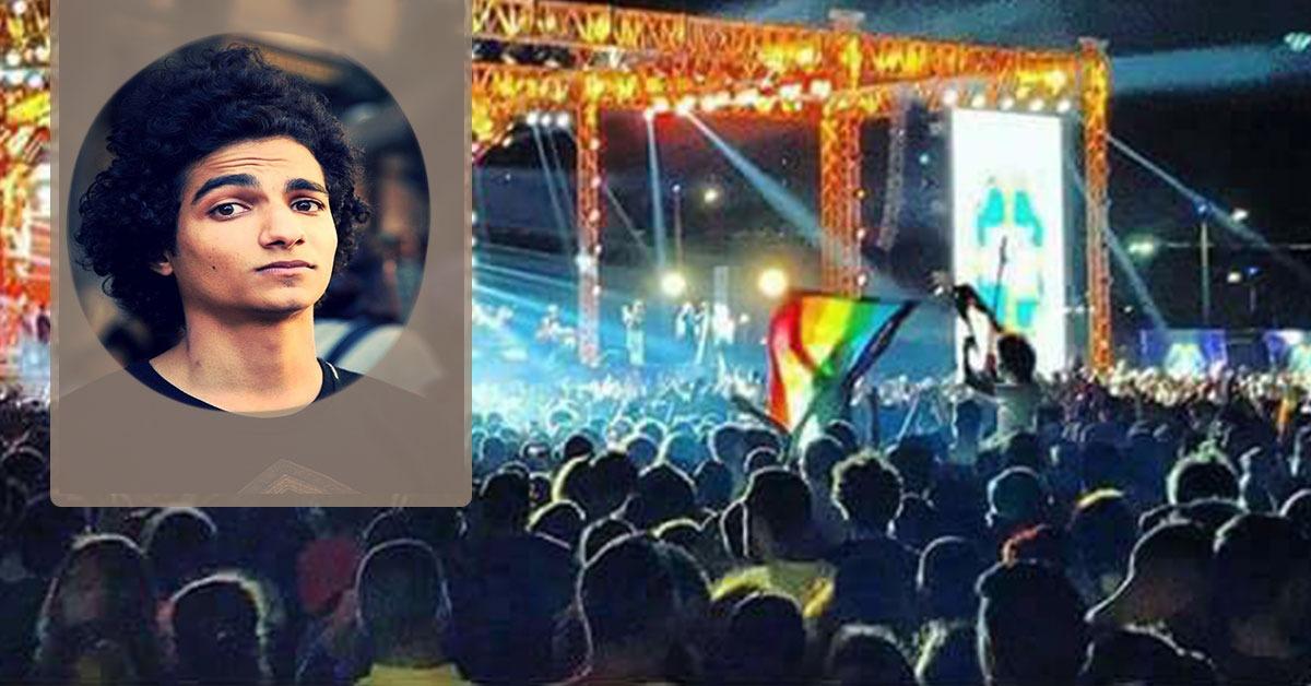 تحويل طالب حلوان صاحب واقعة رفع علم «المثليين» للتحقيق