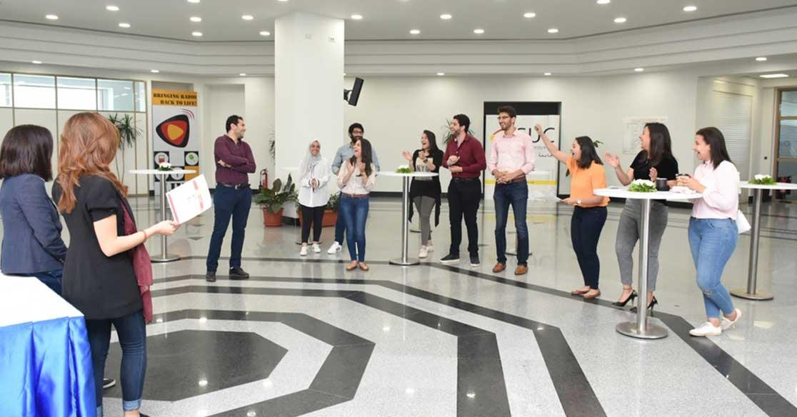 الجامعة الألمانية تنظم مسابقة لريادة الأعمال لطلاب كلية الصيدلية (صور)