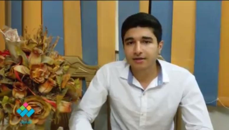 فيديو| يحلم بالوصول لـ«ستار أكاديمي».. حسام الجمل اكتشف موهبته عن طريق الواجب المدرسي