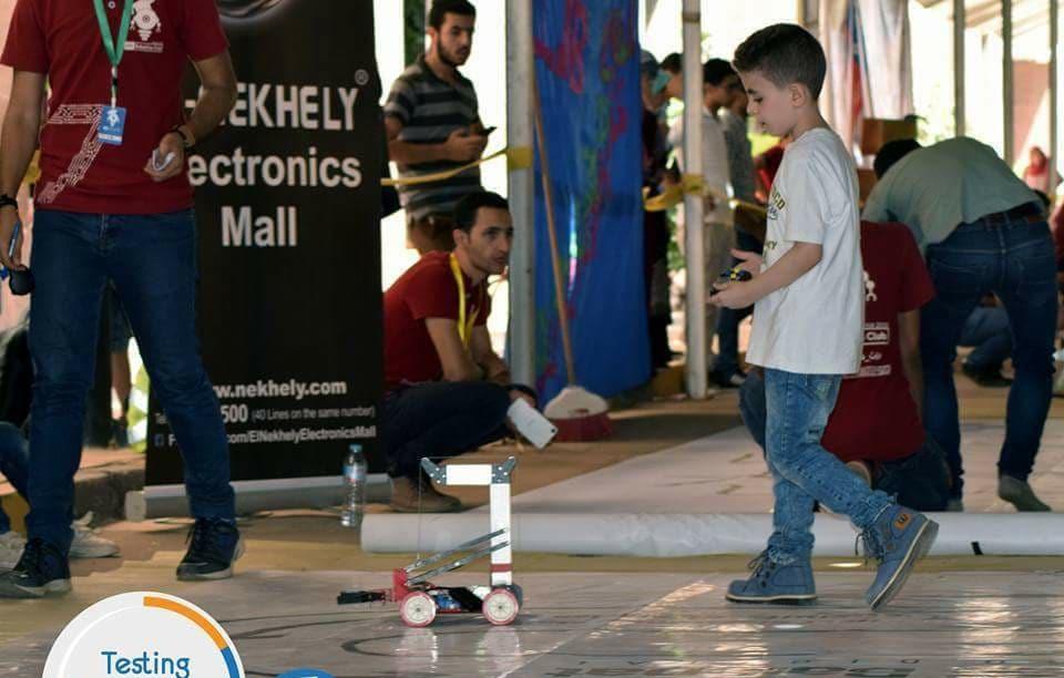 200 طالب يشاركون فى مسابقة «الروبوتكس» بهندسة منوف