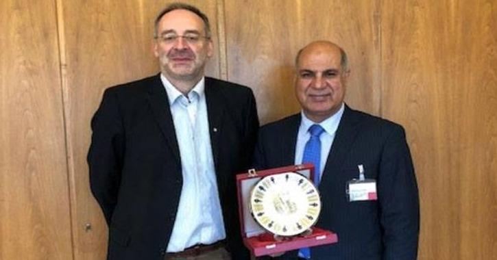 رئيس جامعة كفر الشيخ يزور ألمانيا لتعزيز الشراكة البحثية والعلمية