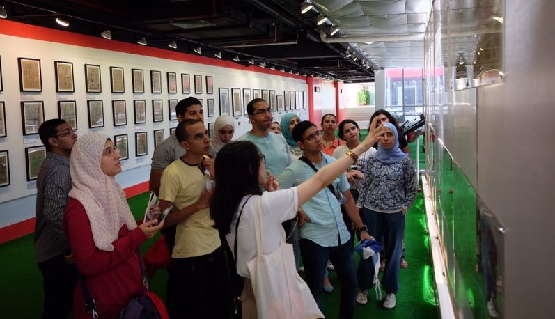 ورشة «ريادة أعمال» لطلاب بجامعة عين شمس في الصين (صور)