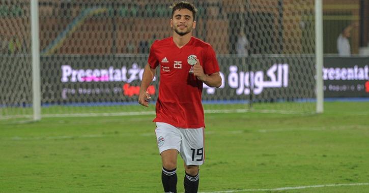إصابة اللاعب محمد محمود بقطع في الرباط الصليبي