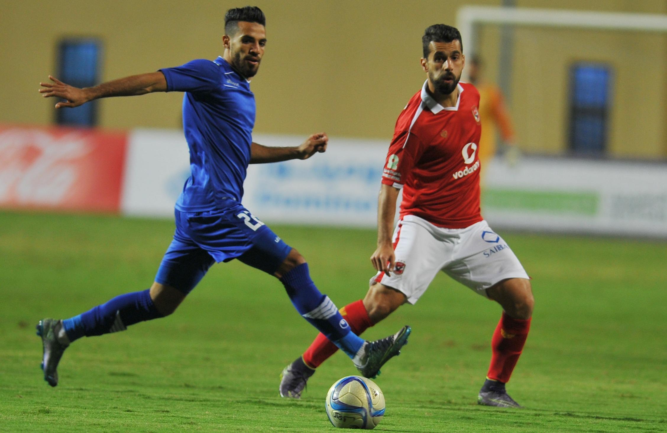 شاهد| برباعية في سموحة.. الأهلي يواجه المصري بنهائي كأس مصر