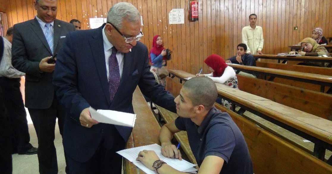 19 حالة غش جديدة في امتحانات جامعة المنيا