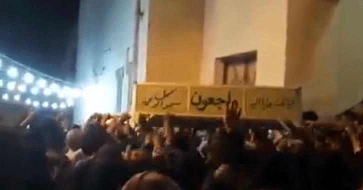 تشييع جنازة الطالبة المقتولة بجامعة الأزهر، أسماء الرفاعي