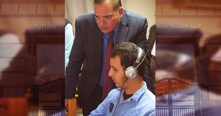 الطالب عربي نعمان.. متفوق يحلم بالبرلمان رغم إعاقته البصرية