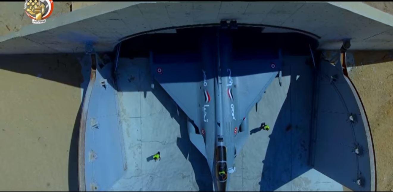 بعد إطلاق عملية التطهير في سيناء.. الجيش ينشر فيديو عن سلاح القوات الجوية