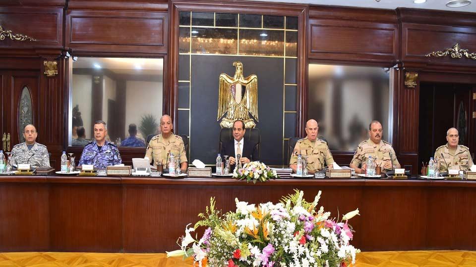 المجلس الأعلى للقوات المسلحة يعقد اجتماعا بمشاركة «السيسي»