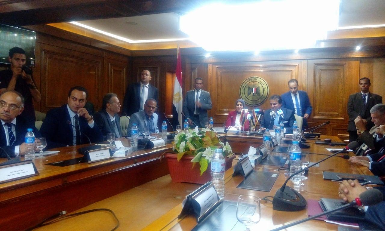وزير الصحة عن التعاون مع التعليم العالي: «واثقة إننا هنقدر نعمل حاجة للمواطن»