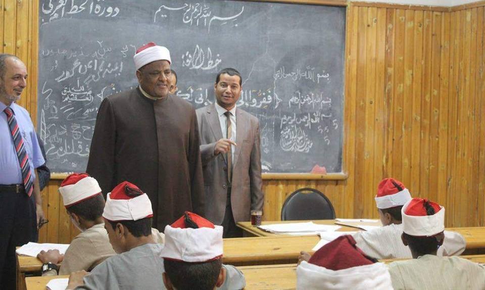 وكيل الأزهر يتفقد امتحانات قبول طلاب الثانوية بشعبة العلوم الإسلامية