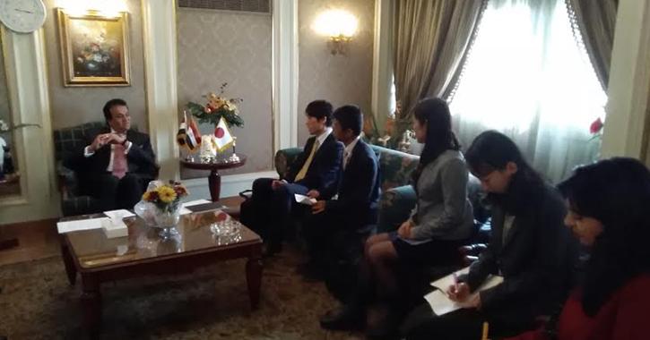 وزير التعليم العالي يبحث آليات التعاون مع هيئة الجايكا اليابانية