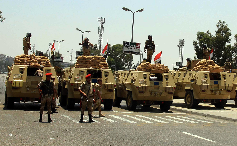 الجيش يبدأ عملية شاملة في سيناء ضد التنظيمات المسلحة (فيديو)