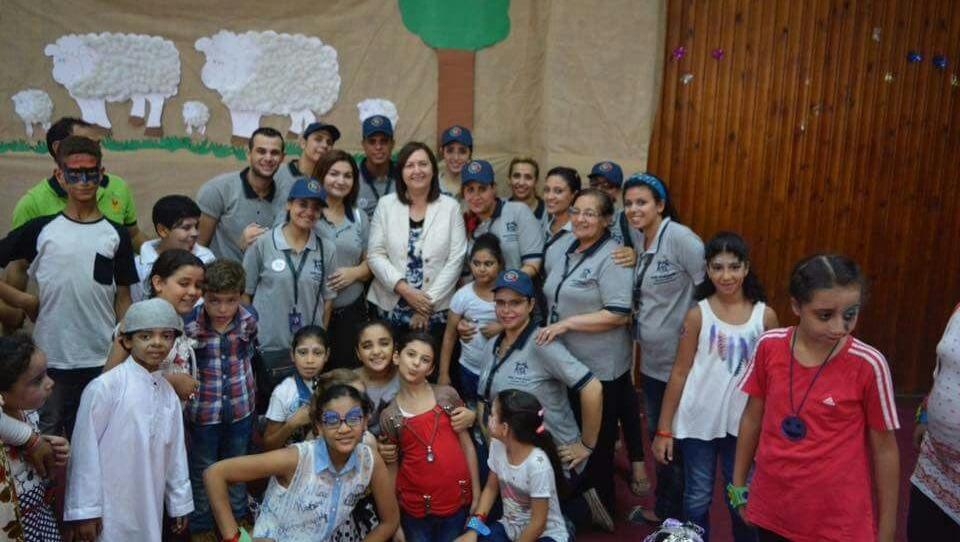 معهد الطفولة بجامعة عين شمس يقيم حفلا ترفيهيا للأطفال ذوي الإعاقة