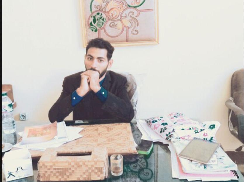 حازم الكواكبي ينافس على رئاسة اتحاد كلية التعليم الصناعي جامعة بني وسيف