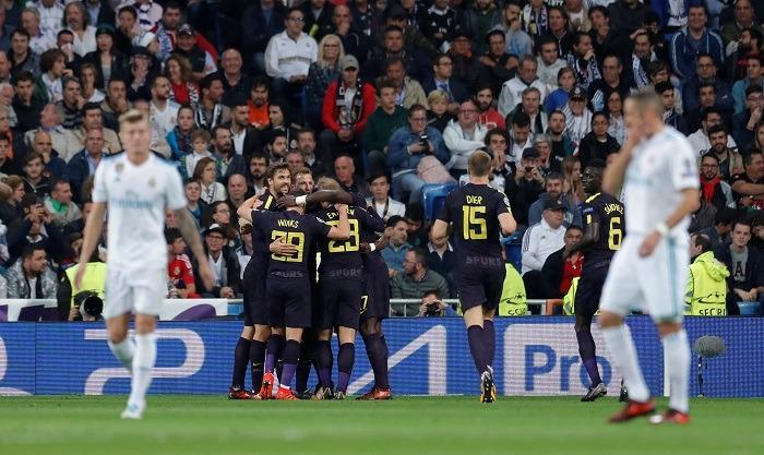 دوري أبطال أوربا.. مباراة ريال مدريد وتوتنهام (1-1)