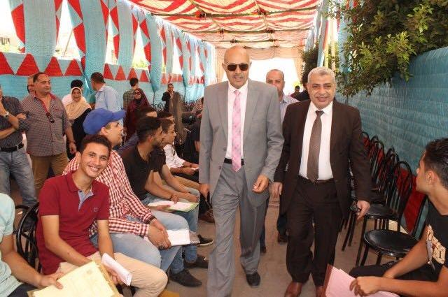 نائبا رئيس جامعة طنطا يتفقدان المجمع الطبي بـ«سبرباي»