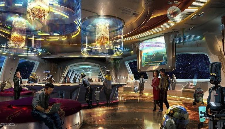 صور| لمحبي «Star Wars».. فندق ينقلك إليه في 2019