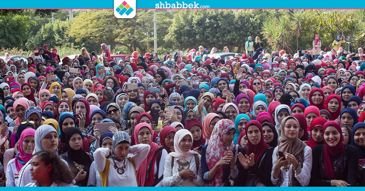 مهرجان استقبال بنات عين شمس