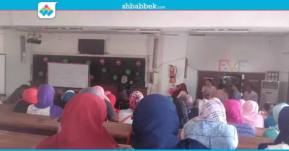 حفل استقبال للطلاب الجدد برعاية اتحاد «علوم بنى سويف» (صور)