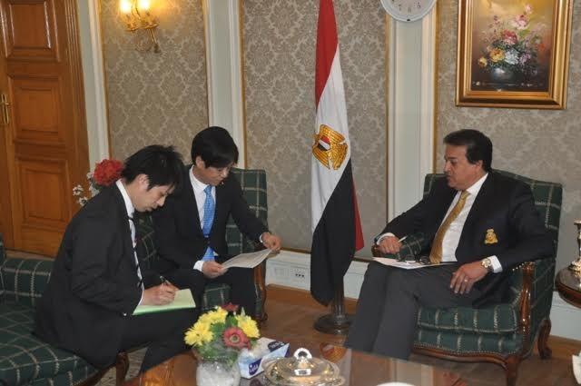 وزير التعليم العالي يعلن عن برنامج تدريبي للباحثين بالتعاون مع اليابان