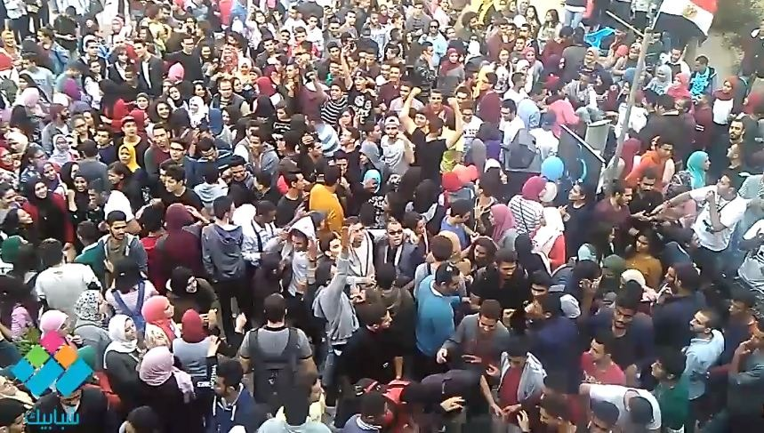 على أنغام «ديسباسيتو» احتفالات طلاب سياحة حلوان