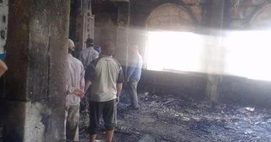 نشوب حريق في معرض «الدلتا» لإطارات السيارات بالمنصورة