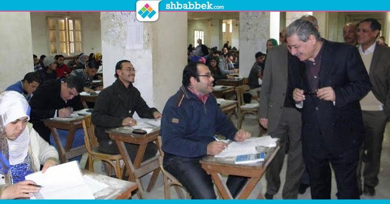 التجارة في الصدارة.. ضبط 77 حالة غش بكليات جامعة بني سويف