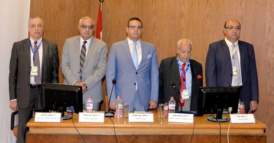 افتتاح المؤتمر السنوي الثلاثين لقسم طب الأطفال بجامعة المنصورة