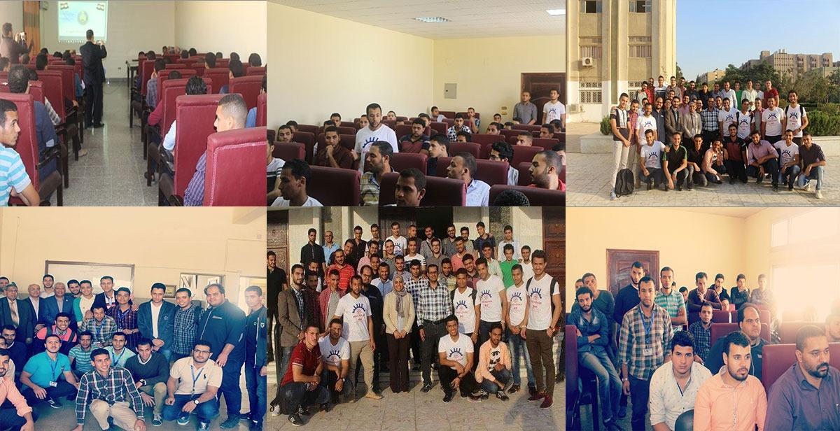 «MSR-Azhar».. فريق بهندسة الأزهر لخدمة طلاب الجامعة (فيديو)