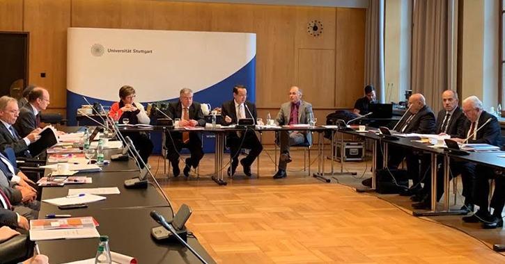 مجلس الجامعة الألمانية بالقاهرة يناقش افتتاح مركز للتصنيع الرقمي